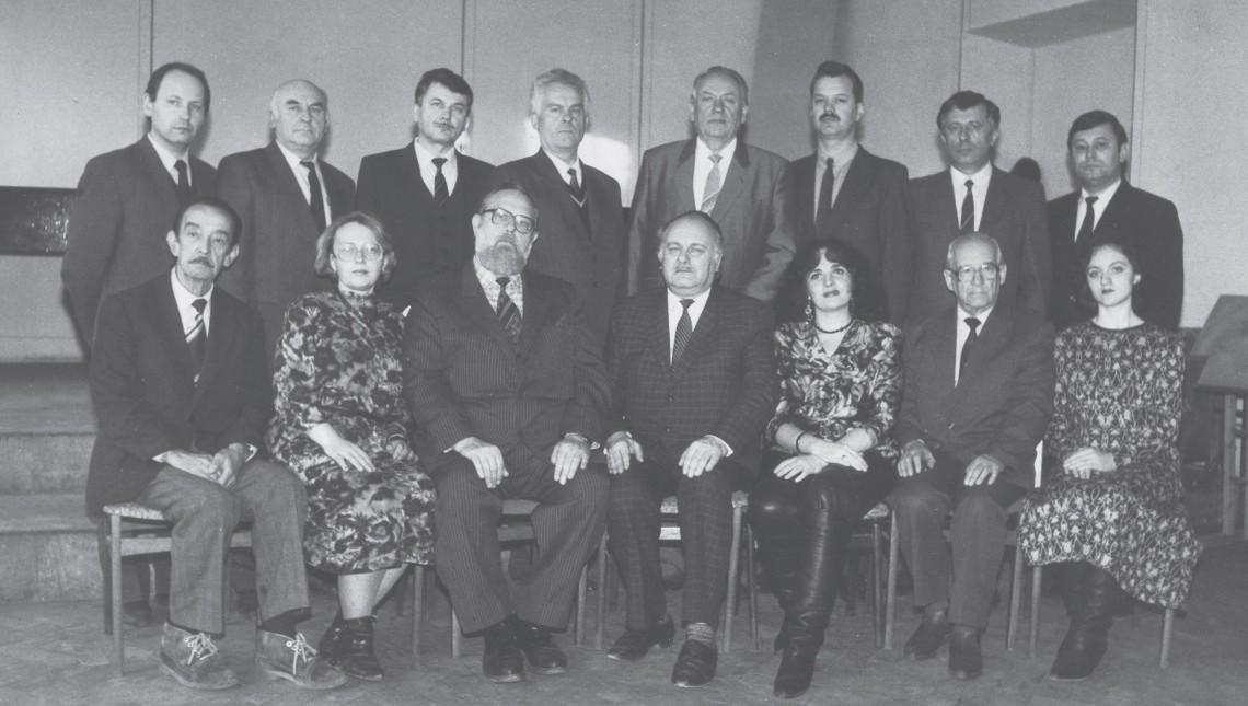 Кафедра духових та ударних інструментів у 1993 р.